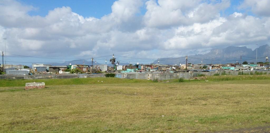 Schacks vor Kapstadt