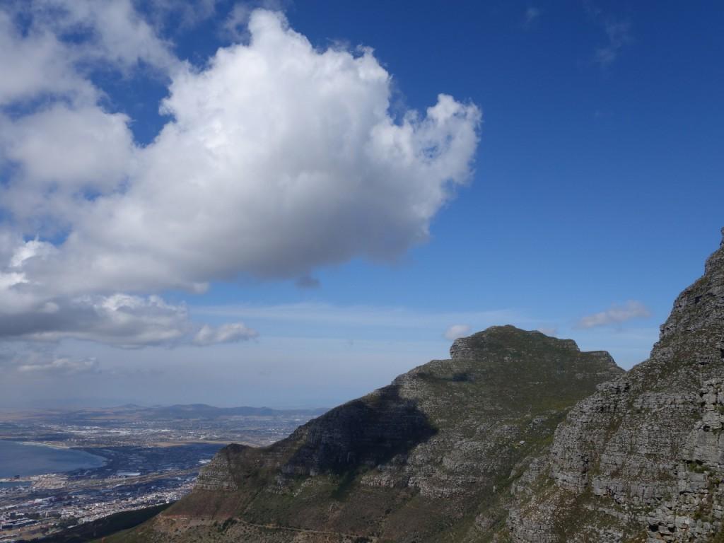 Blick auf den Devil's Peak