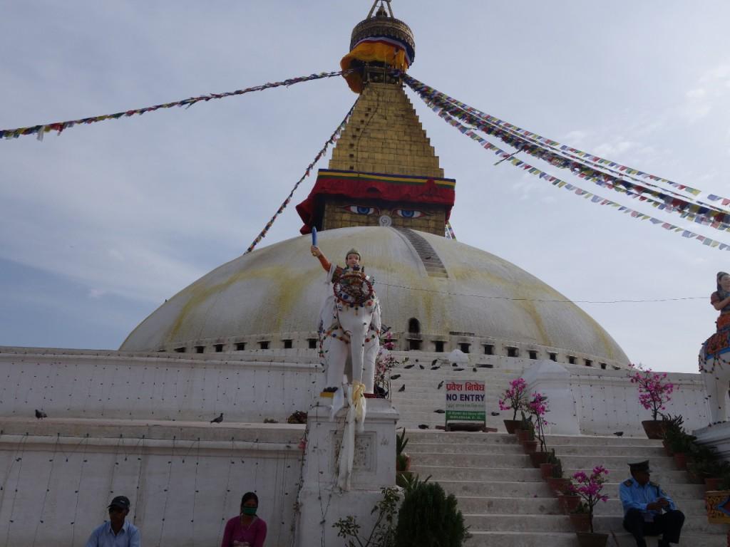Boudhanat Stupa