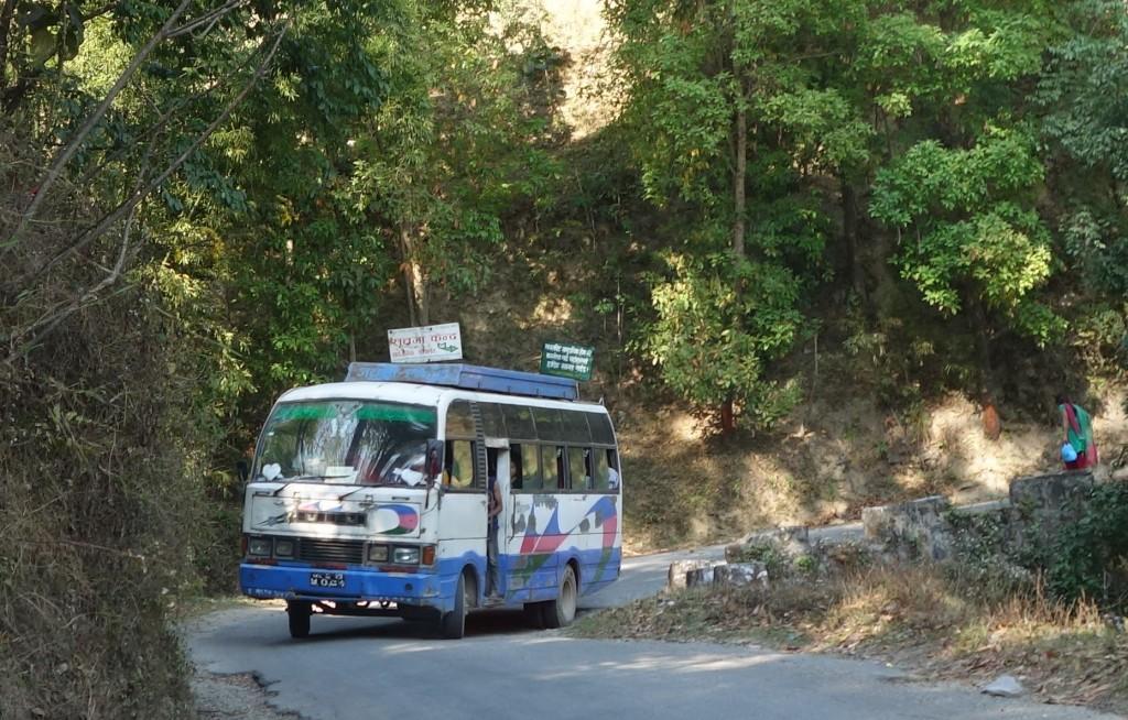 Bus ohne Türe