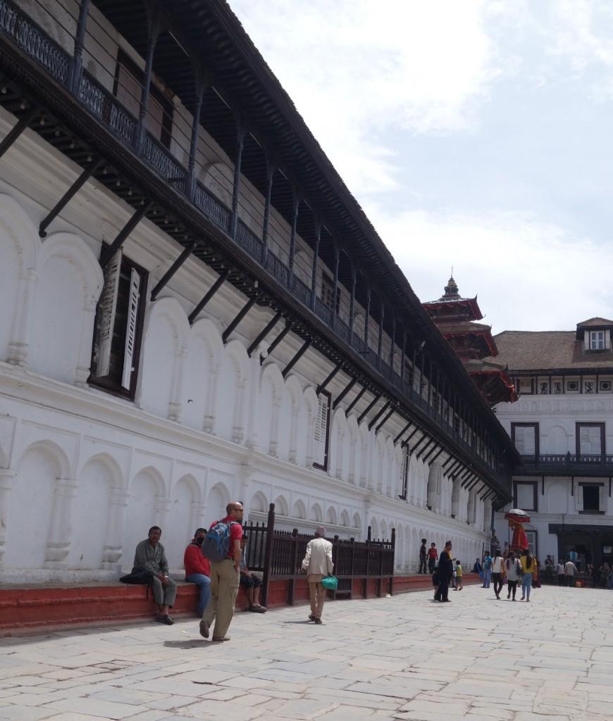 Teil des Königspalastes