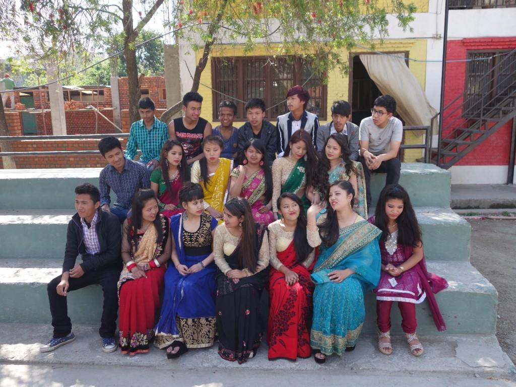 Gruppenfoto der 10. Klasse
