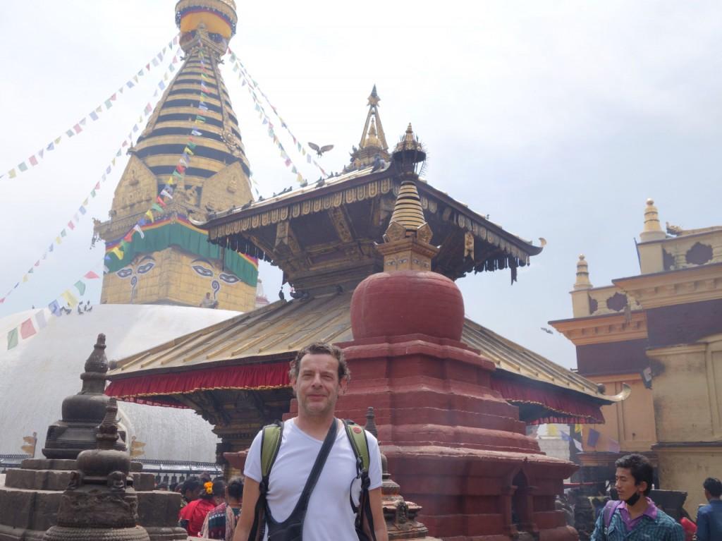 Besuch der Tempelanlage Swayambhunath