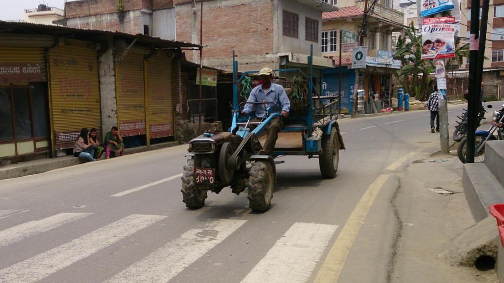 Motor auf zwei Rädern
