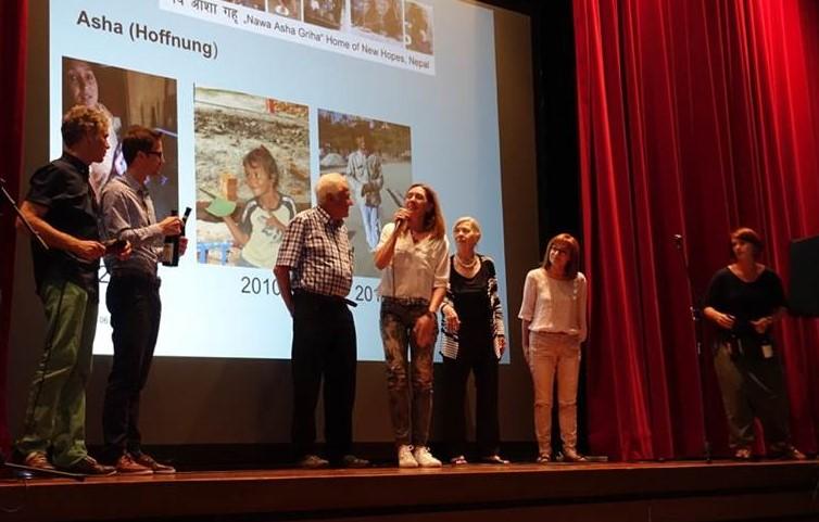 Michèle Troller-Wick dankt dem Stiftungsrat für die ehrenamtliche Arbeit und den Einsatz